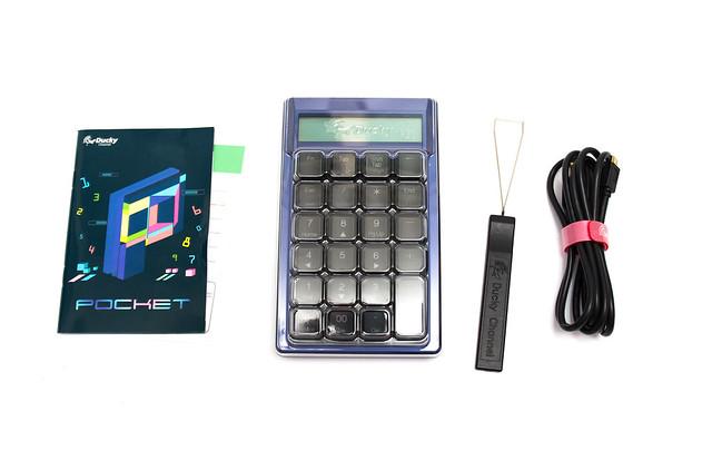 Ducky Pocket RGB 計算機鍵盤 (1) 開箱動手玩![未上市工程版] @3C 達人廖阿輝