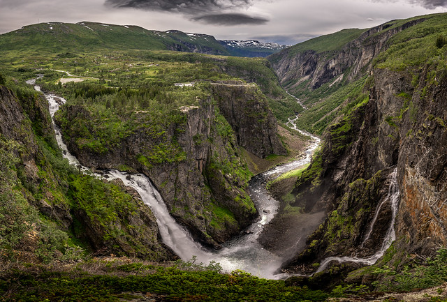Vøringfossen - Eidfjord, Norway - Landscape, travel photography