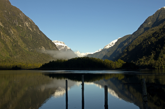 Deepwater Basin reflections Milford Sound - H4 22 7 15 K55766