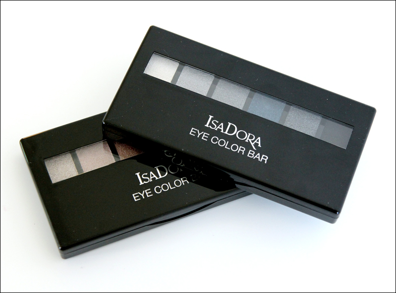 IsaDora Autumn leaves & Grey temptation eye color bar