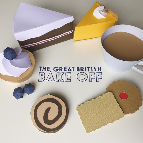 The Great British Bake Off by Hannah Miles