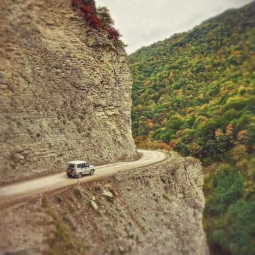 Chechen Countryside #chechnya #prettylandscape #visitchechnya #greatplace #iloveit #beautifulcolors #falliscoming