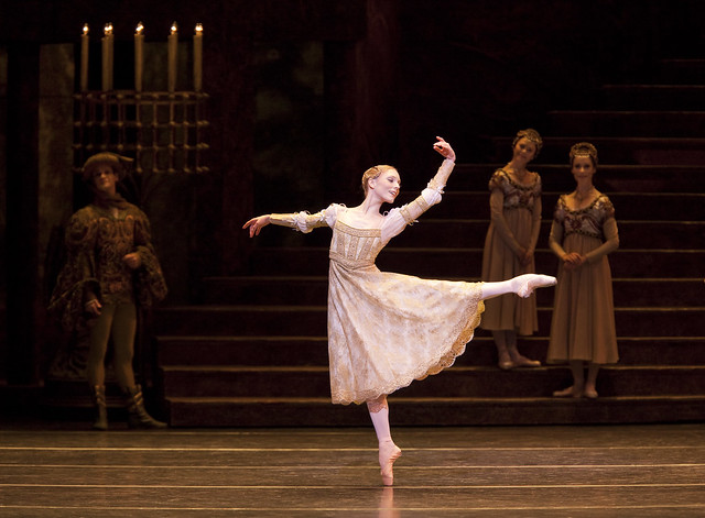 Sarah Lamb as Juliet in Romeo and Juliet © ROH 2015. Photograph by Johan Persson