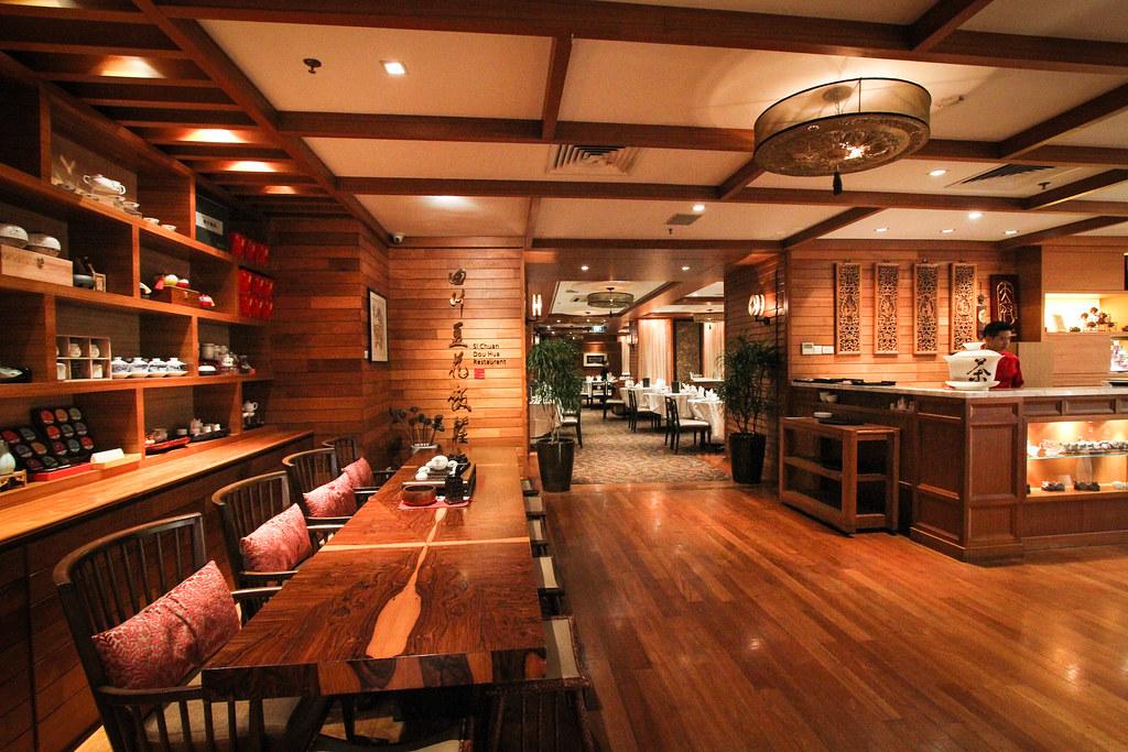 Si Chuan Dou Hua Restaurant interior