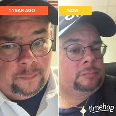 Not much of a difference #Timehop