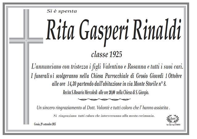 Rita Gasperi Rinaldi
