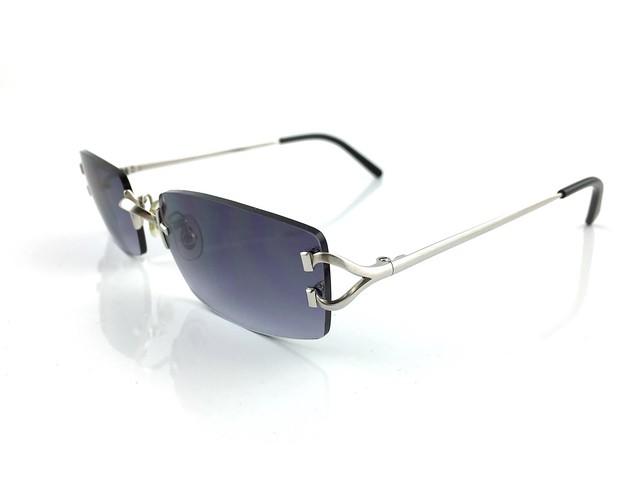 occhiali cartier c decor passy vintage sunglasses platinum plated