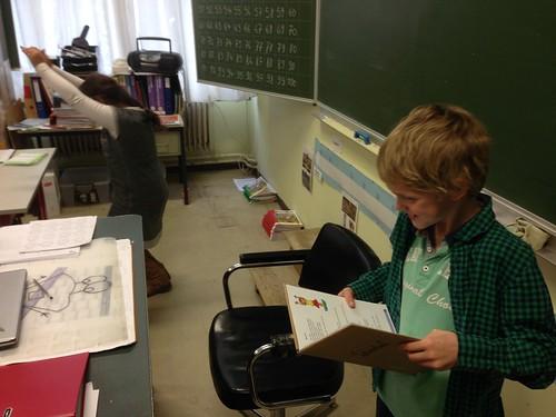 Taalplezier in het 3de leerjaar.