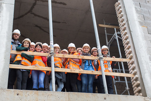 Construction Site Tour With Students - October 14, 2015