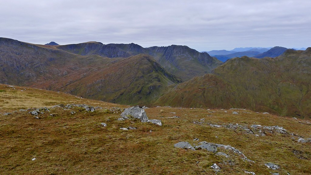 The ridge of Beinn Fhada