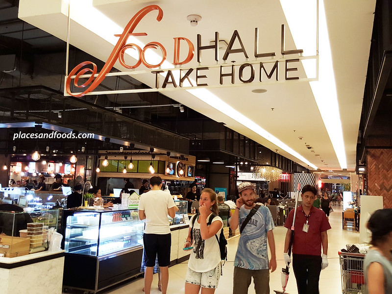 siam paragon foodhall take home