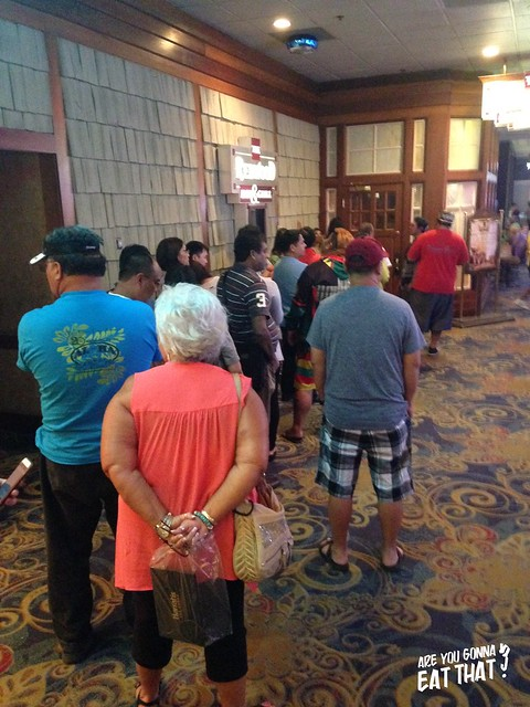 Lineup for oxtail soup at The California Hotel