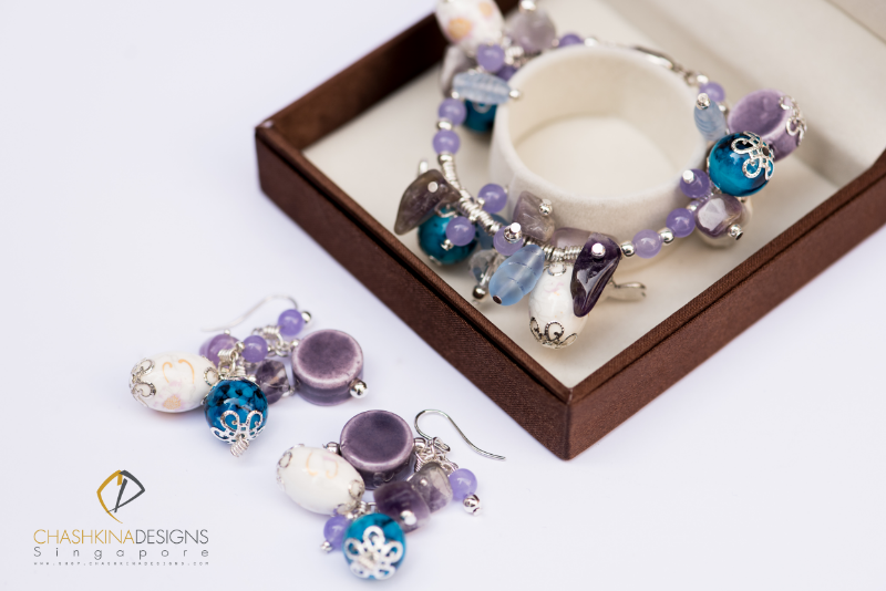 Virgin Pina Colada jewelry collection by Chashkina Designs