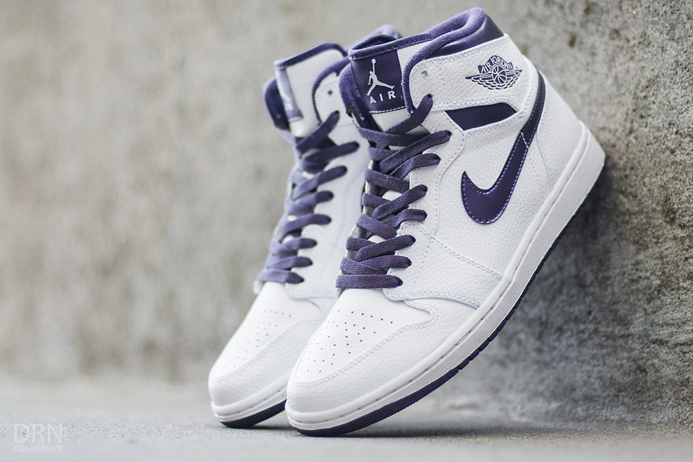 2009 Metallic Purple/White DTRT I's.