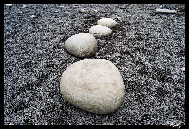 Levantamiento de 4 piedras en Dritvík