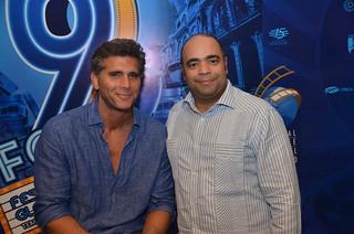 Christian Meier y Omar de la Cruz