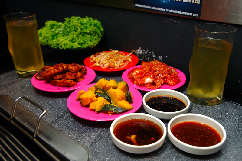 Kilo Grill Appetizers Banchan