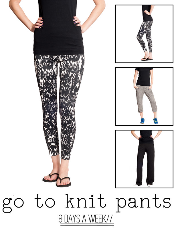 PA 8 Days A Week GTP Knit Pants