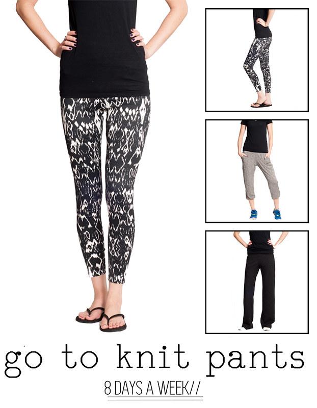 PA 8 Days A Week GTP Knit Pants