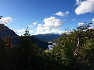 Rio Murta depuis un point haut