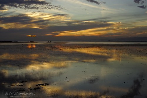 sony a7r minolta 50mm sea seascape sunset landscape philipines cebu olangoisland reflect magicmoment