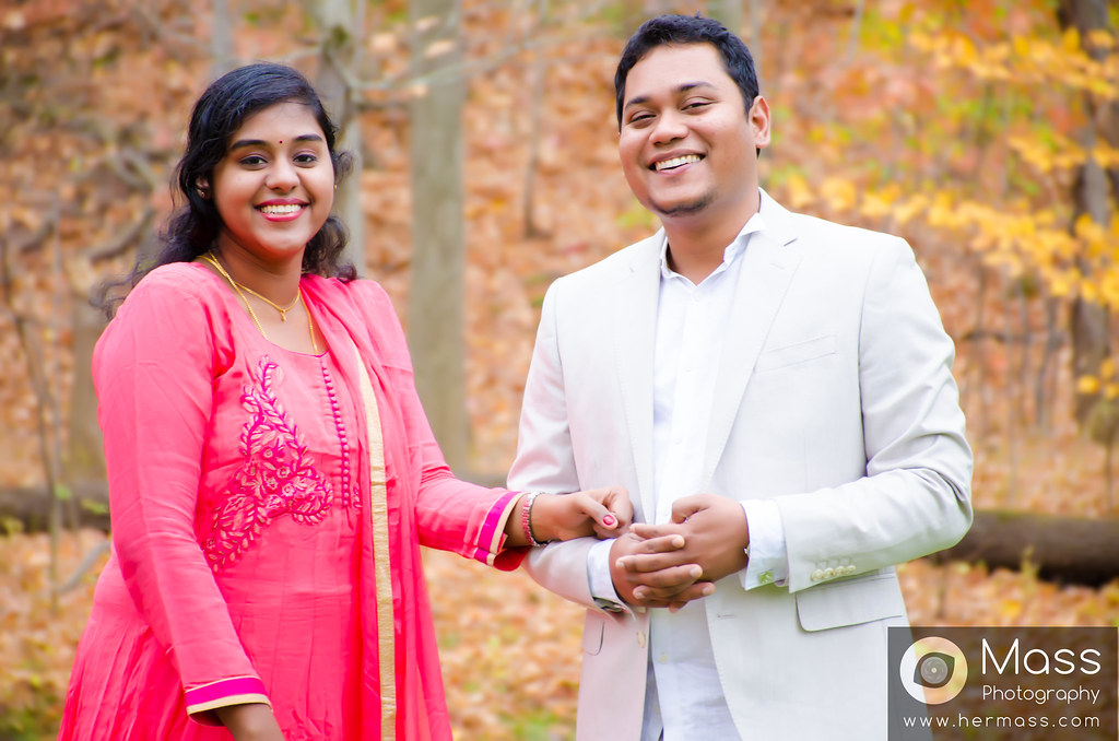 Vignesh and Shabhritha  - Post Wedding Photography in USA - Mass Photography - Hermass