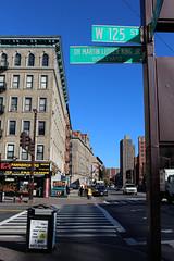 Martin Luther King Jnr Boulevard in Harlem, New York