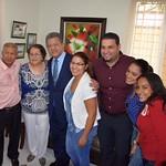Encuentro con compañeros del PLD en Santiago