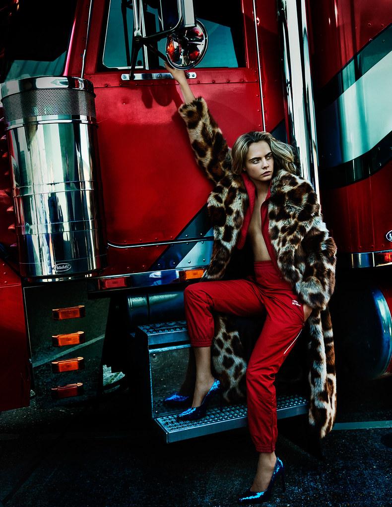 Кара Делевинь — Фотосессия для «Vogue» UK 2016 – 3