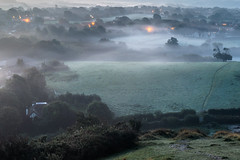 A misty morning in Dorset