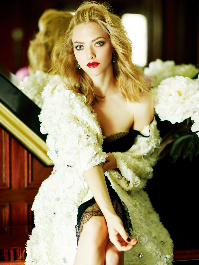 Аманда Сейфрид — Фотосессия для «Elle» CH 2016 – 8