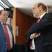 Achim Barchmann und Norbert Spinrath - Der stellv. Vorsitzende des Europaausschusses mit dem Europapolitischen Sprecher der SPD-Fraktion