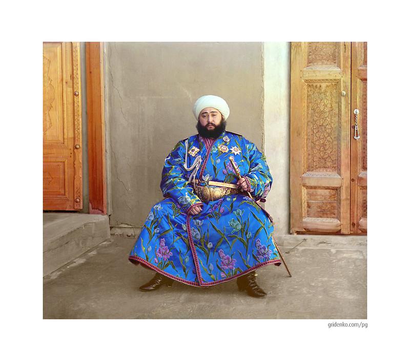 Emir of Bukhara. Bukhara, 1911