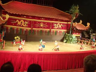 Water puppets. Saigon, Vietnam