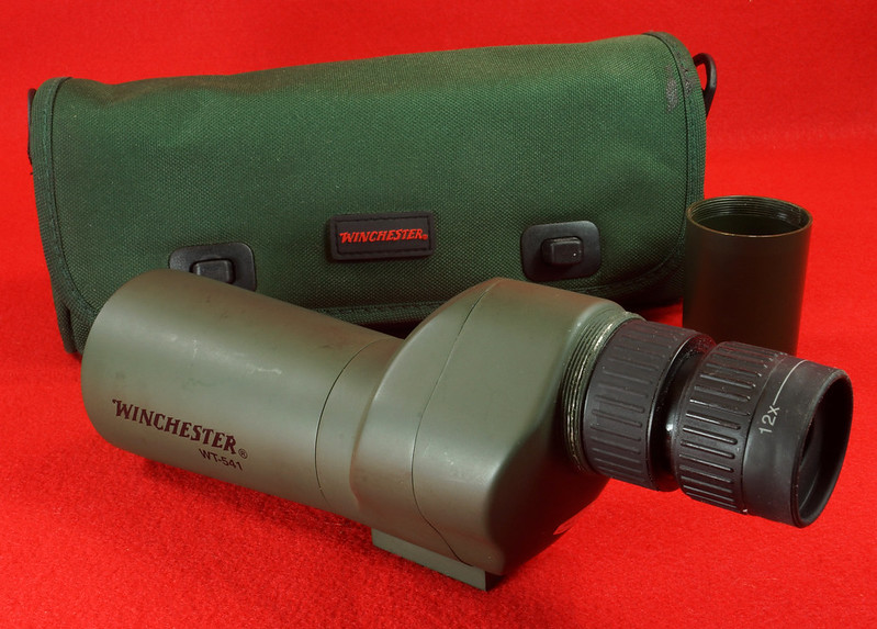 RD14520 Winchester WT-541 Spotting Scope with Bag DSC05909