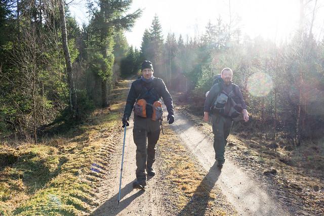 Jens og Kim på vej