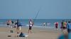 Fisherman on Playalinda Beach