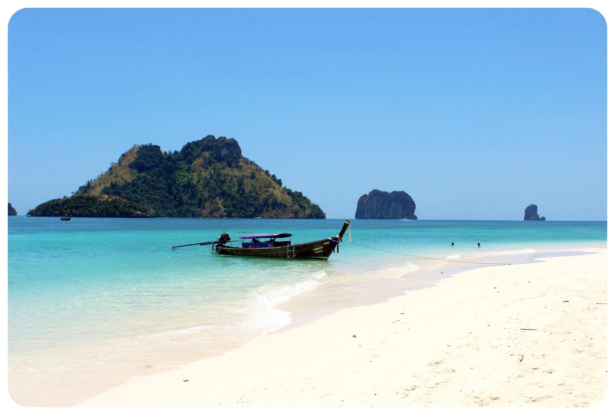 koh poda boat thailand