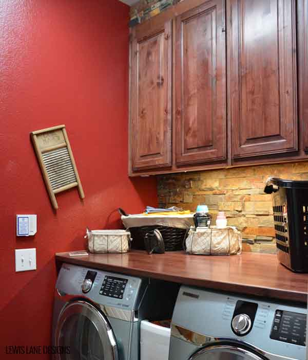Laundry Room Makeover by Lewis Lane