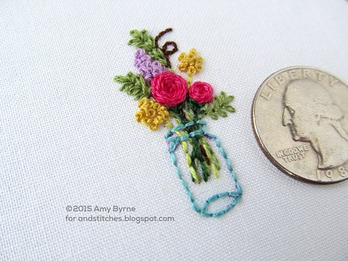 Stitches summer gin tiny embroidery with amy byrne