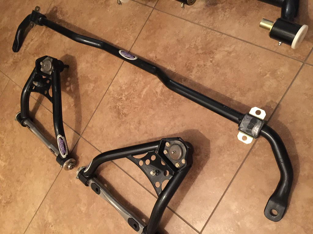 67 69 Camaro Dse Control Arms And Sway Bar
