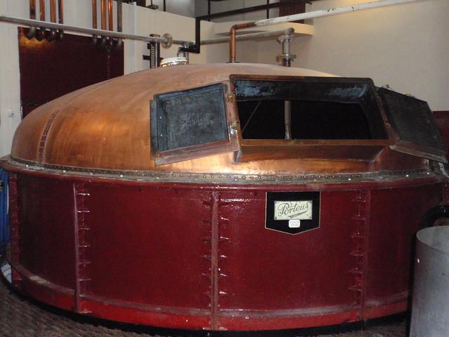 Mash tun at Glenglassaugh distillery