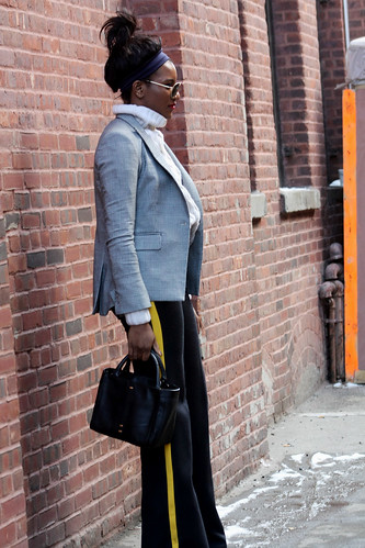 On the streets during NYFW FW15