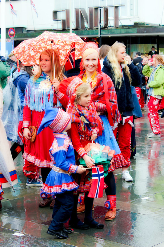 Sami dress on Norwegian Constitution Day