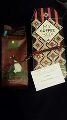 Gracias Iván de Xochimilco por la foto de tu café Triunfo Verde de MyCoffeeBox.com