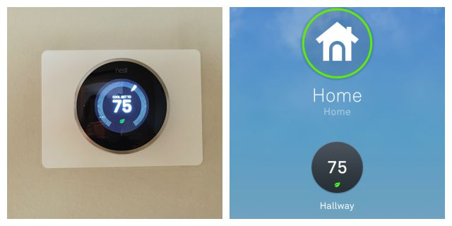 Nest Thermostat and App