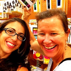 Introducing @nzchrissy to Target! We\'ve been here an hour already and we\'re not past the stationary & toiletries...