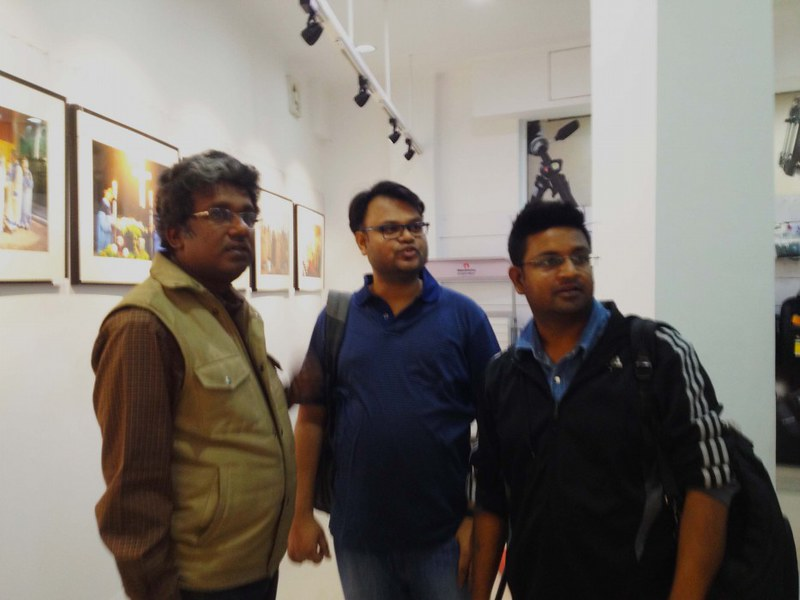 Rangan Datta, Sumit Surai, Indrajit Das (From L- R) - At Adda With Rangan Datta - Kolkata, India