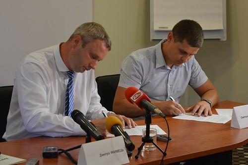 Дмитро Якимець та Святослав Євтушенко об'єднались заради нового міста!