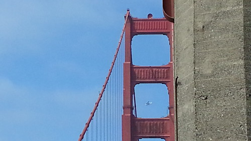 Bridge and plane